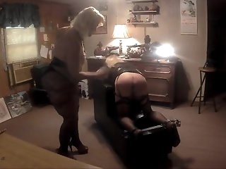 Mistress Amber Beats Amy.