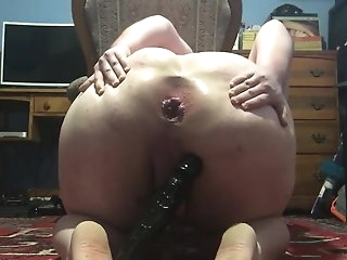 Gaping the Boss's Sissy Daughter Wide Open