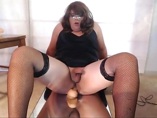 Best Homemade Shemale record with Lingerie, Fetish scenes