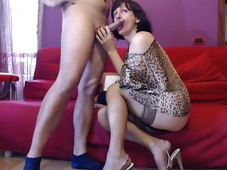 Best Amateur Shemale video with Brunette, Stockings scenes
